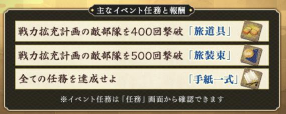 イベント任務